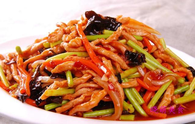 黄焖鸡、鱼香肉丝、蒜苔炒肉、青椒炒肉丝、葱爆羊肉、回锅肉