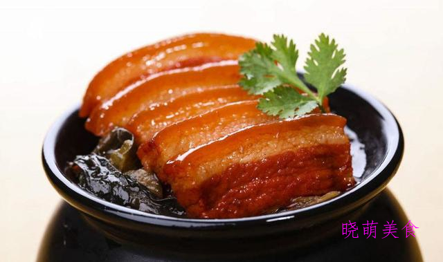 把子肉、红烧猪蹄、扣肉、蒜泥白肉的做法,好吃不油腻