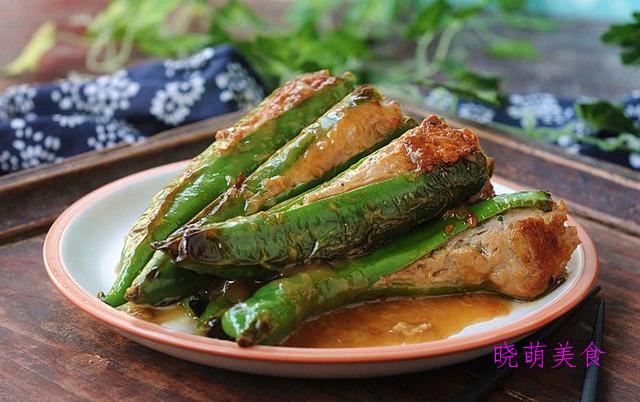 爆炒腰花、青椒酿肉、蒜苗炒猪肝、糖醋带鱼的做法,咸香好吃