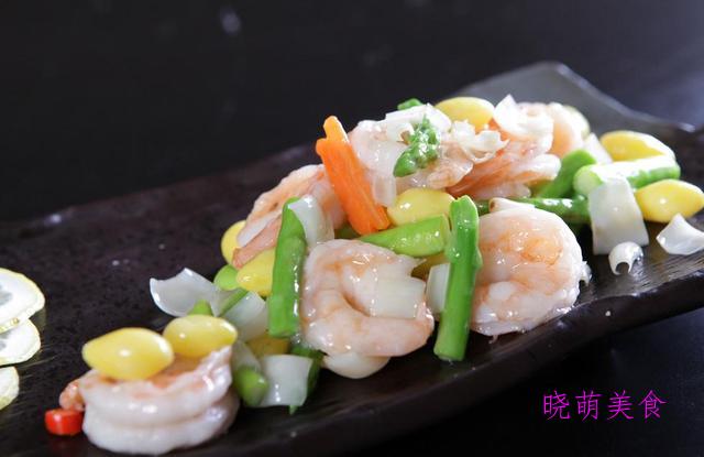 芦笋炒虾仁、香辣虾、洋葱炒牛肉、小炒肉的做法