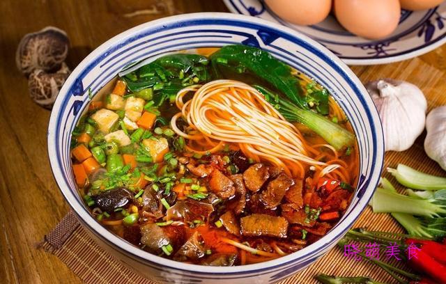 四川凉面、臊子面、拌冷面、炒面条的做法,营养美味,好好吃
