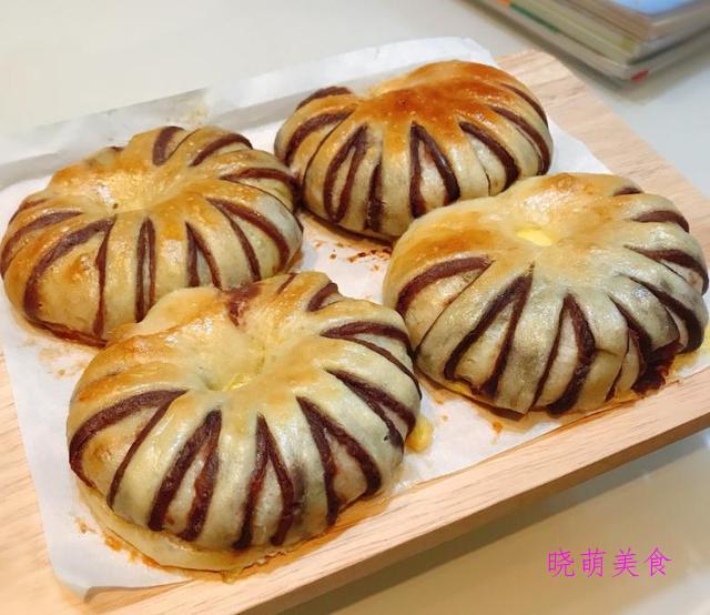 蒸面包、豆沙面包、手撕面包、脆底小面包美味做法,香甜酥脆