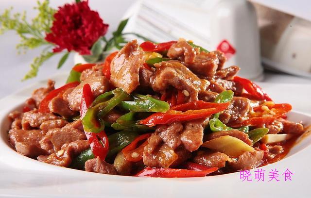 辣椒炒肉、香辣扇贝、炒鸡胗、辣炒海螺、青椒炒牛肉的美味做法