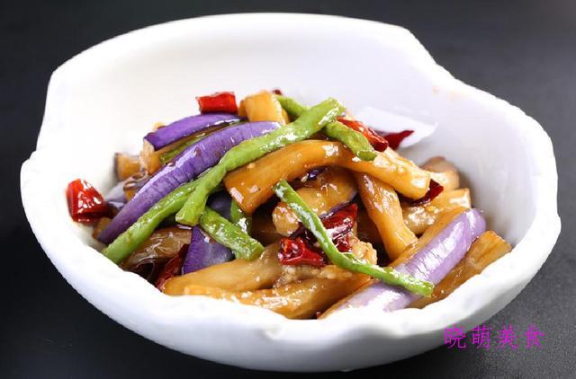 烧鱼块、炒杏鲍菇、萝卜烧牛腩、炒茄子的做法、营养美味,好好吃