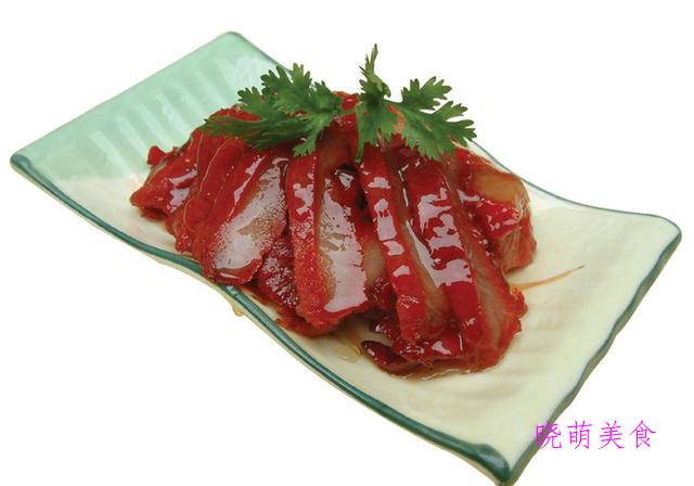 蜜汁烤肉、红油口水鸡、卤鸭肝、凉拌猪肚丝、红烧蹄花的家常做法