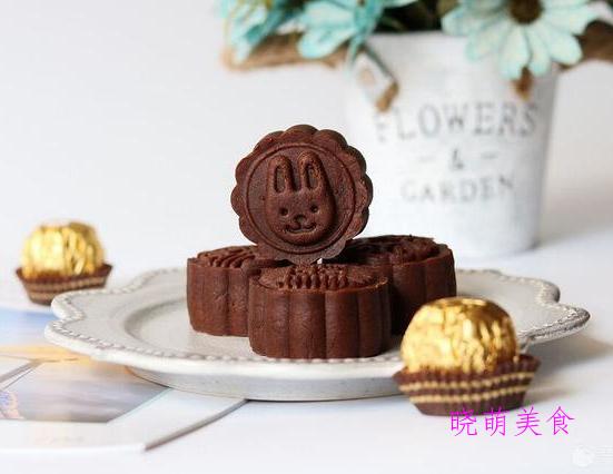 五仁月饼、广式牛肉月饼、巧克力月饼的家常做法,香甜美味