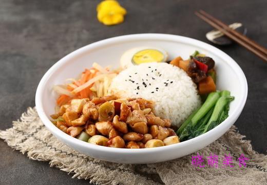 香菇鸡肉饭、鱼香肉丝饭、咖喱牛肉饭、宫保鸡丁饭的家常做法