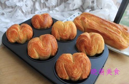 丹麦手撕面包、港式菠萝包、奶油纸杯蛋糕、爆浆玛德琳的家常做法