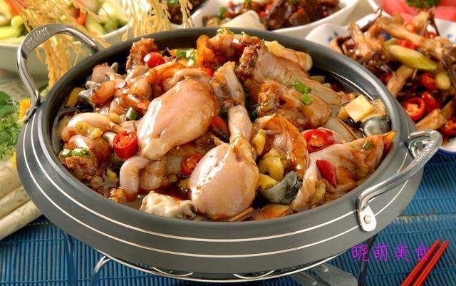 口味牛蛙、五香带鱼、啤酒牛肉、香辣娃娃菜的家常做法