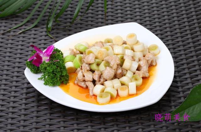 鱼香茄子、特色猪大肠、啤酒香猪肉、葱爆梅花肉的家常做法