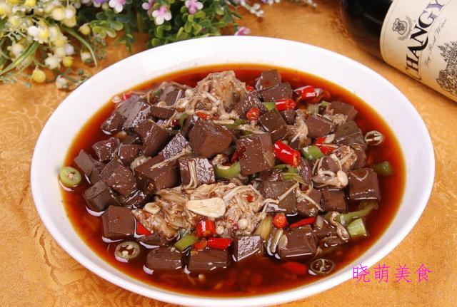 葱香兔肉、仔姜麻辣鱼、泡菜黄辣丁、酸辣血旺的家常做法