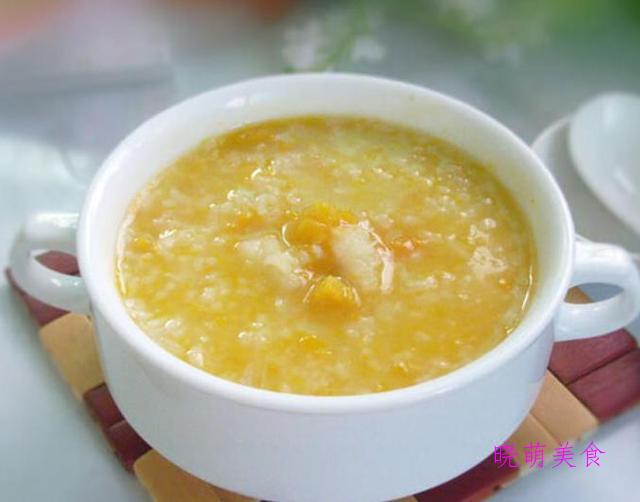 南瓜小米粥、山药粥、山药黑米粥、红豆薏米粥的家常做法