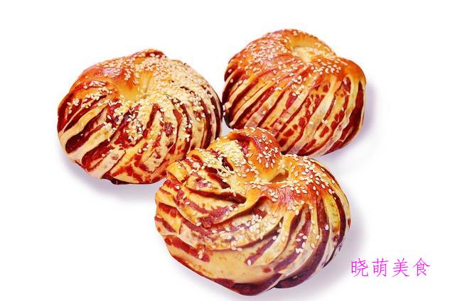 蛋白溶豆、蔓越莓饼干、软吐司、千层面包、豆沙面包的家常做法