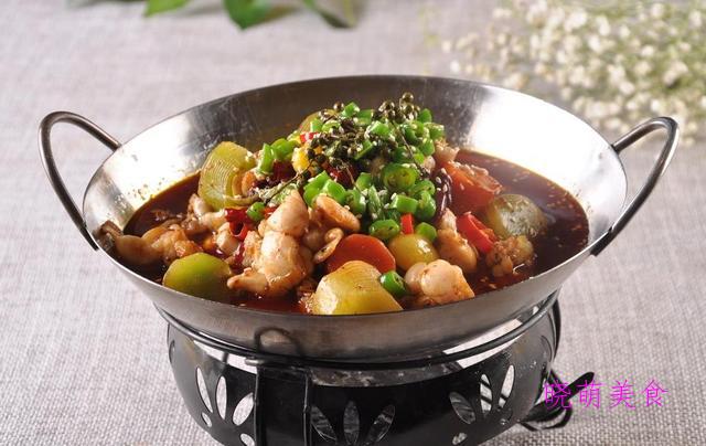 板栗烧牛蛙、煮干丝、红油牛蛙的家常做法