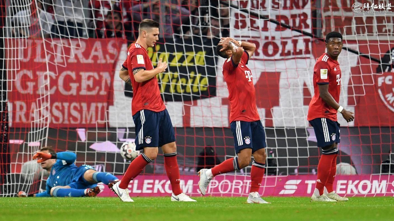 德甲第7轮 拜仁0:3门兴 拜仁大败跌至积分榜第51