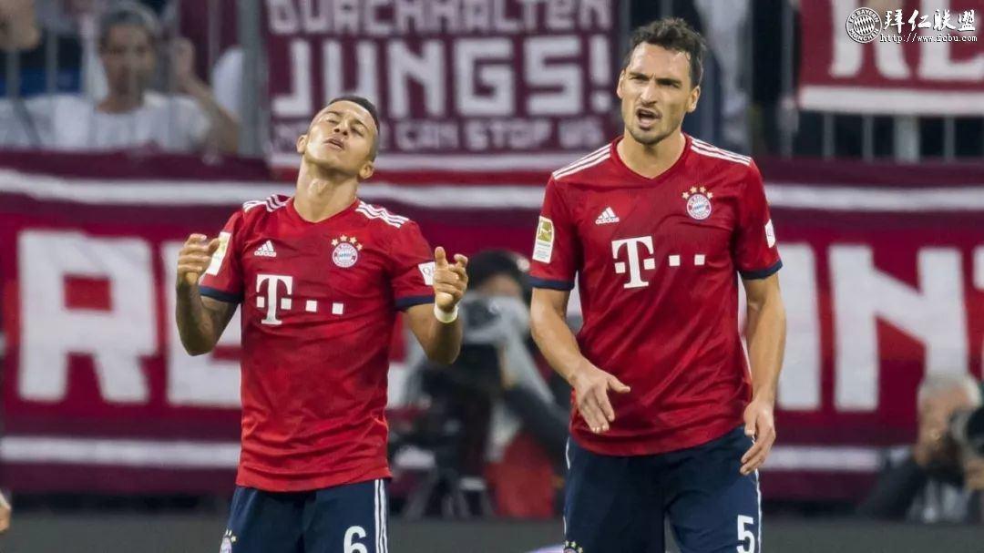 德甲第7轮 拜仁0:3门兴 拜仁大败跌至积分榜第512