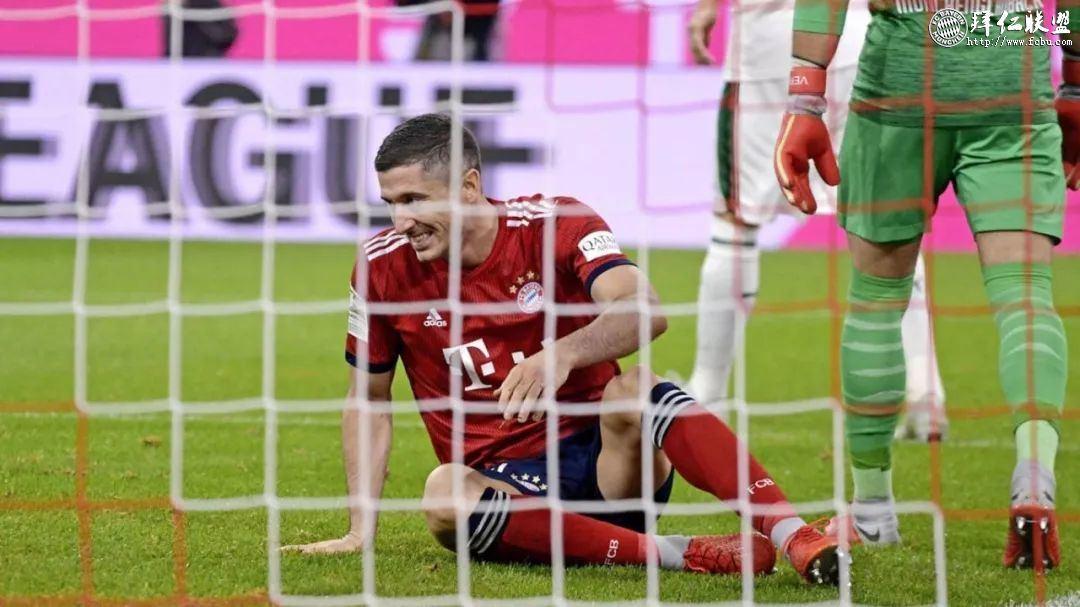 德甲第7轮 拜仁0:3门兴 拜仁大败跌至积分榜第513