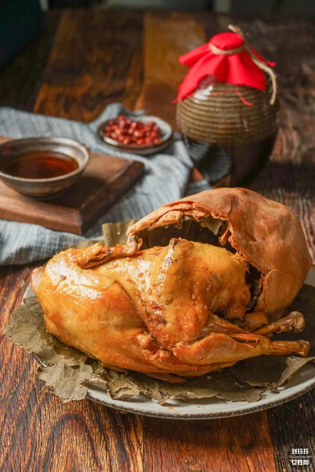 正宗叫花鸡的做法?一样的味道简单做叫化鸡12