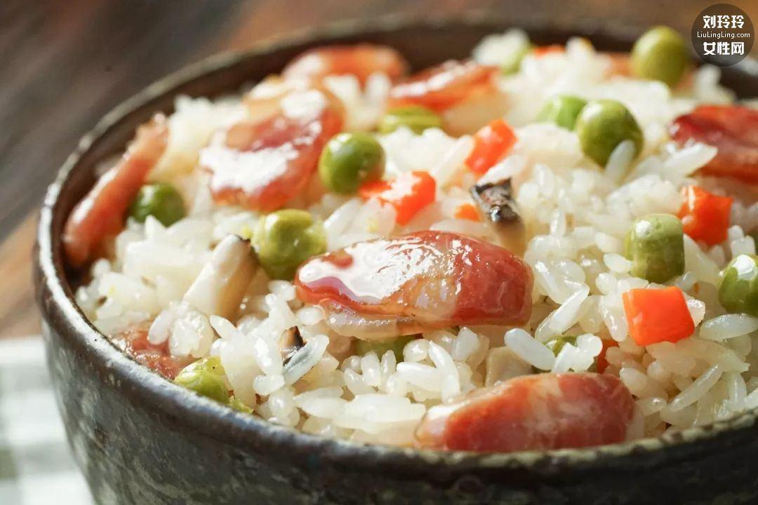 电饭锅焖饭懒人饭 用电饭锅做最简单的菜9