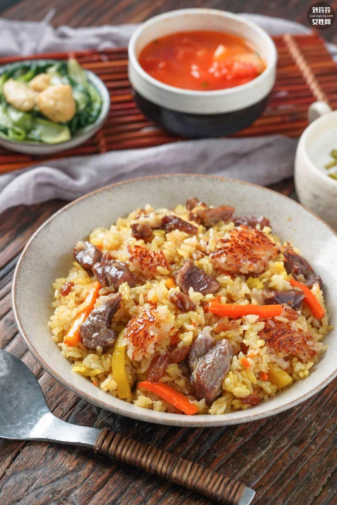羊肉手抓饭做法 新疆菜羊肉手抓饭窍门10