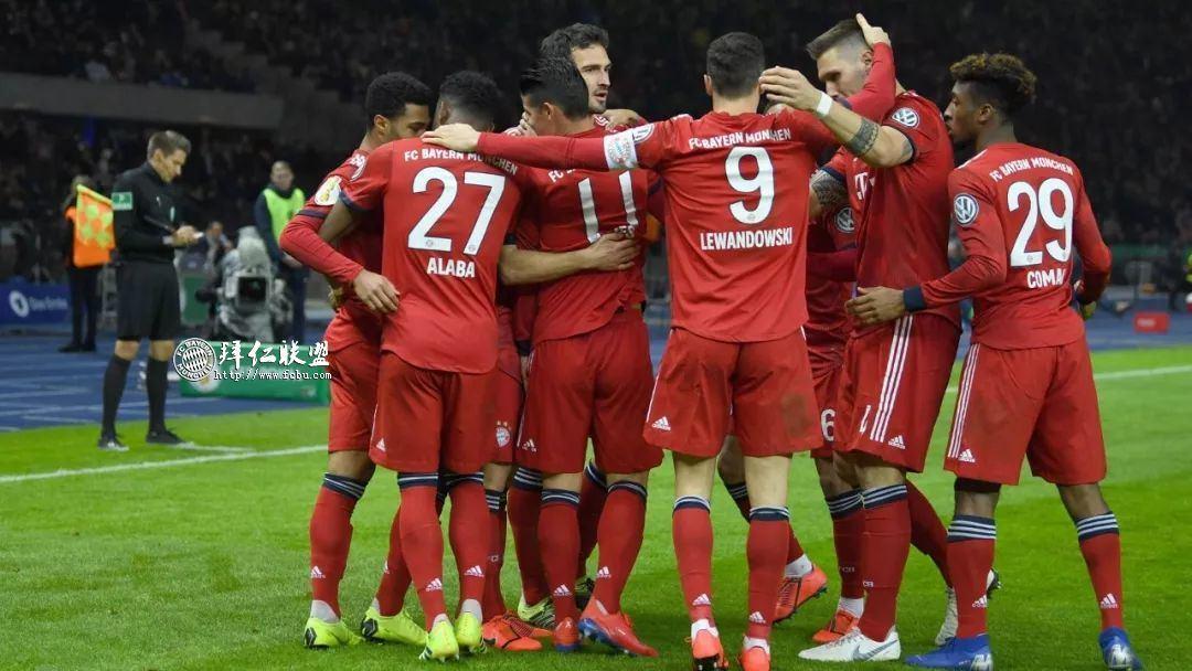 挺进德国杯八强 赫塔2:3拜仁 格纳布里两球 科曼加时制胜1