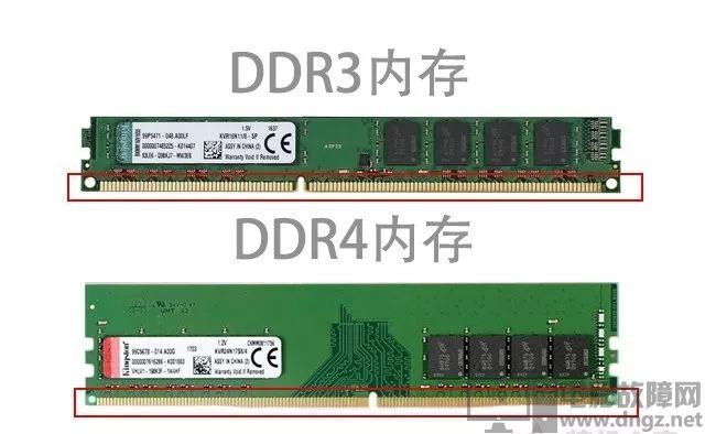 DDR3、DDR4内存区别在哪里?内存条选购务必注意!5