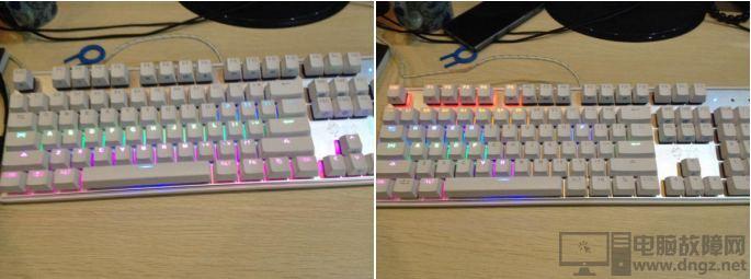 键盘的种类和区别 薄膜键盘vs机械键盘2