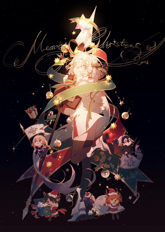 「P站日榜」圣诞主题动漫美图推荐