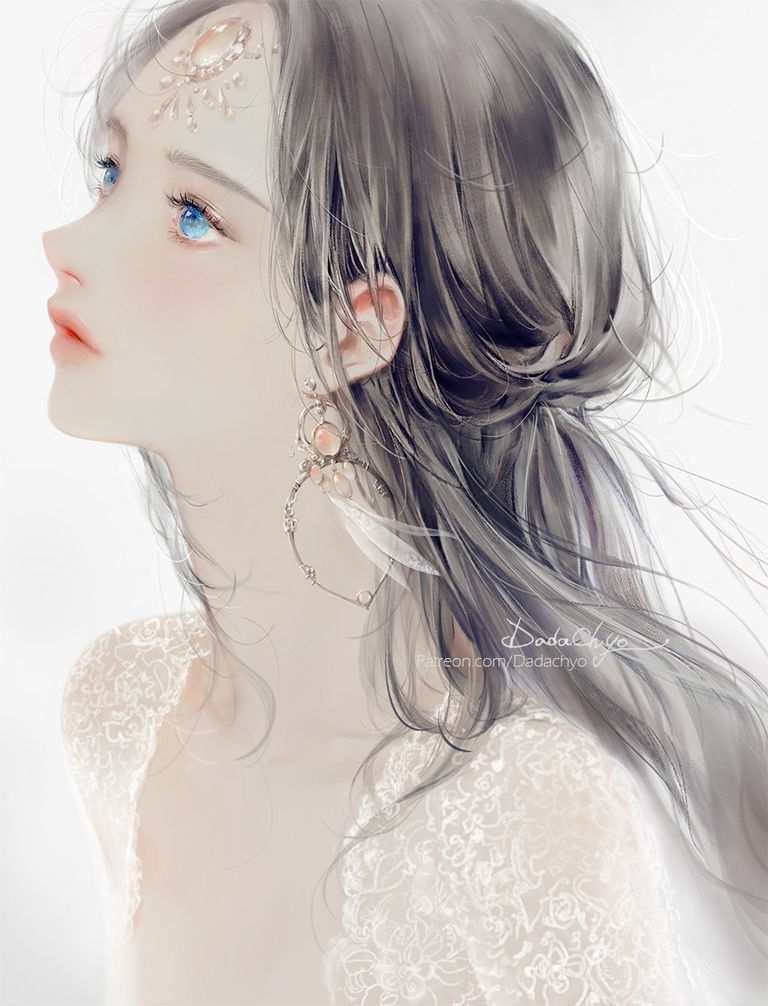 「精选美图」唯美系列的壁纸推荐&耳饰×少女