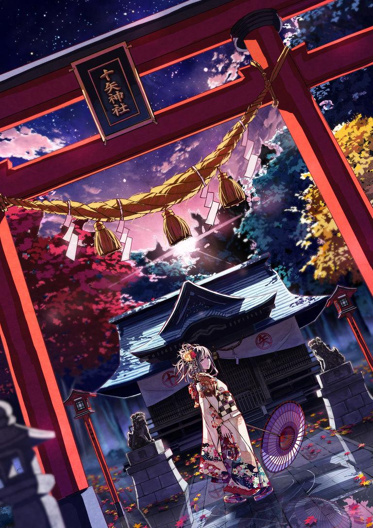 「动漫图集」神圣的世界-风景壁纸专辑