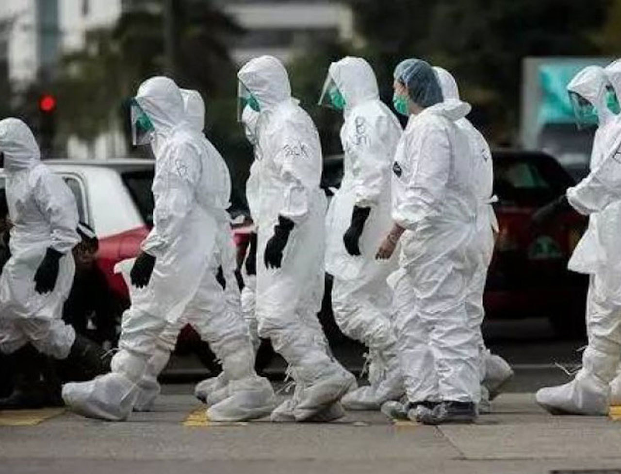 新型冠状肺炎 WF上海