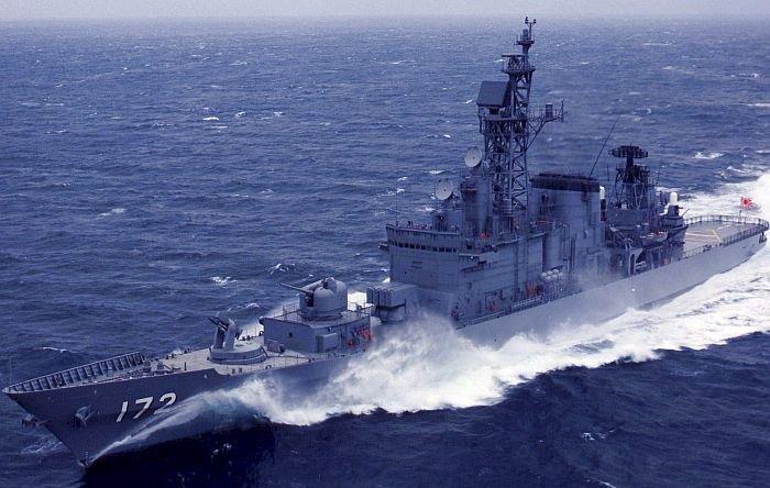 岛风 中国渔船 东海