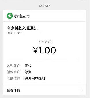 手机能赚钱的方法,绿洲APP新用户注册领1元现金,秒到 手机赚钱 第2张