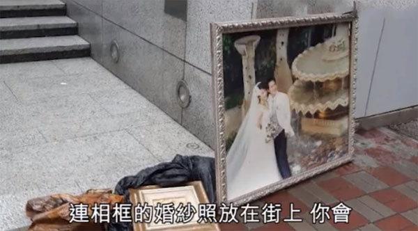 张家辉婚纱照被弃