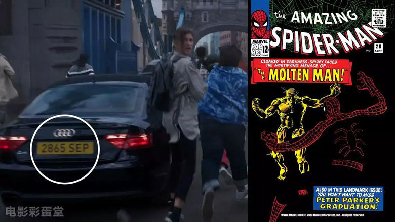 蜘蛛侠英雄远征彩蛋