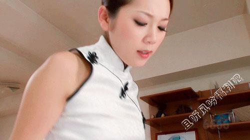 小川阿佐美白旗袍