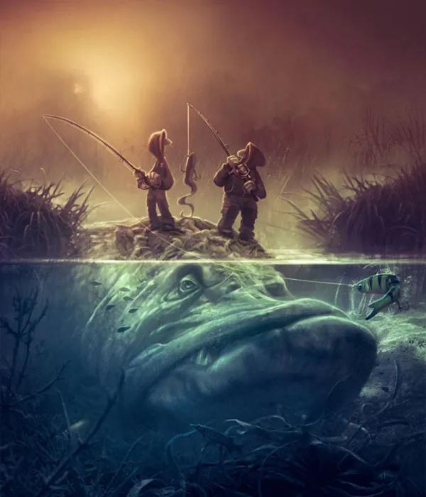 这样的深海巨物图一定有人喜欢