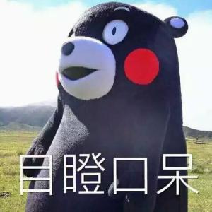 熊本熊目瞪口呆表情包