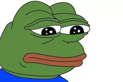 青蛙难过表情包