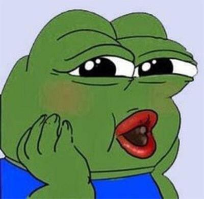 青蛙感觉自己萌萌哒表情包