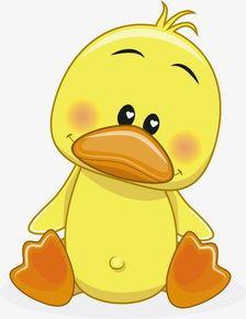 小黄鸭委屈可怜伤心表情包