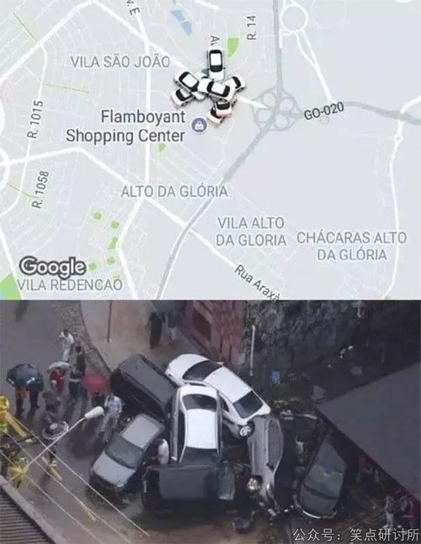 谷歌地图是真的挺严谨的