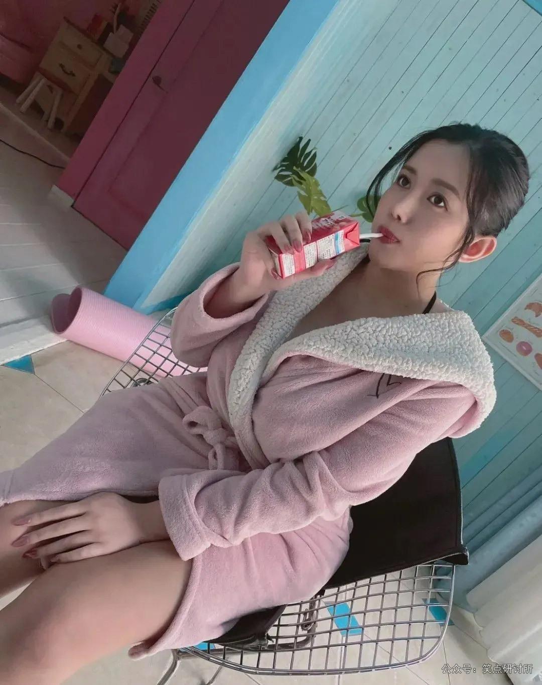 永井玛利亚很喜欢喝酸奶啊