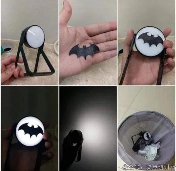 为什么蝙蝠侠灯照不出蝙蝠来