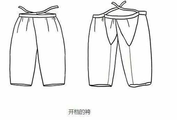 古代女性上半身穿肚兜,下半身穿什么呢?