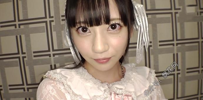七泽美亚(七沢みあ)穿着洛丽塔裙美丽极了