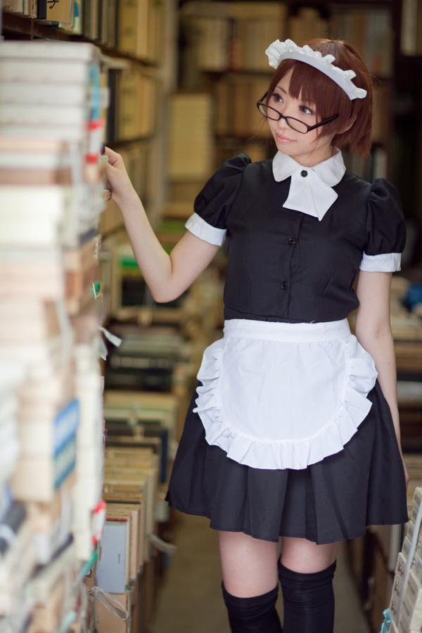 书店的女仆少女 中日妹子
