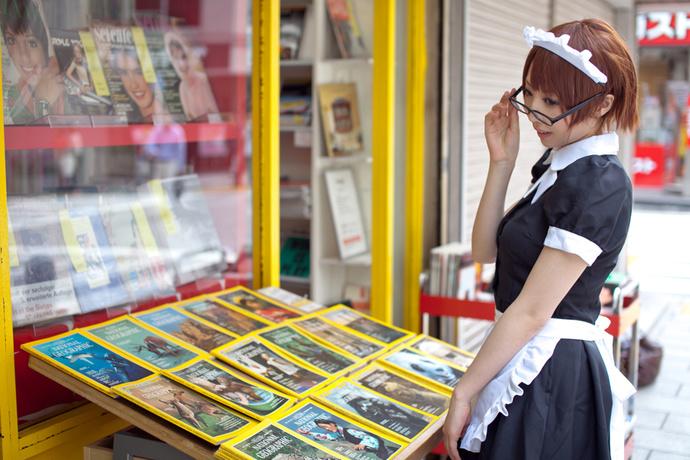 书店的女仆少女
