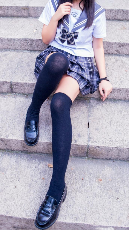 过膝丝袜 JK 制服写真 清纯丝袜