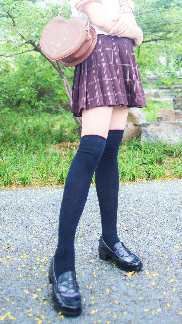 秋天的落叶和你 清纯丝袜